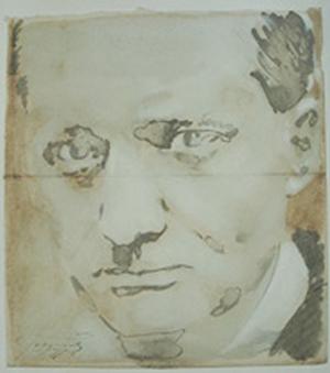 Portrait Baudelaire