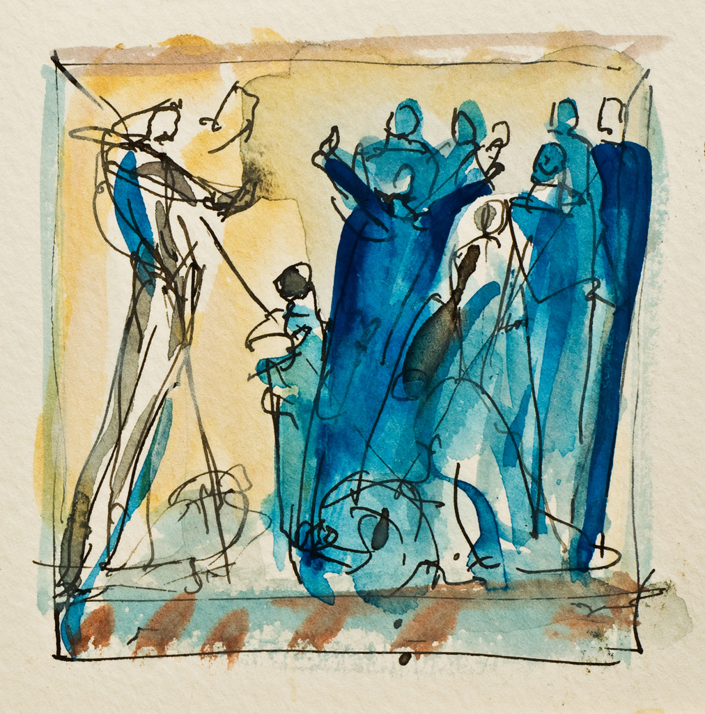 Die Brueder vor Joseph II